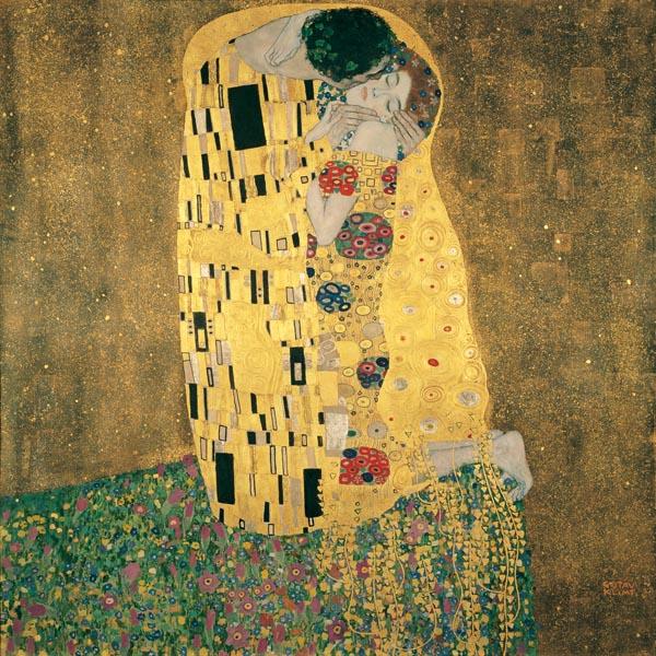 Gustav KlimtDer Kuss, 1908…l auf Leinwand180 x 180 cmBelvedere, Wien